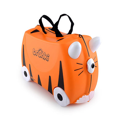 Trunki Tiger Koffer für Kinder