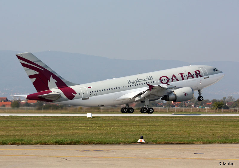 Airbus A310-308 Qatar Airways